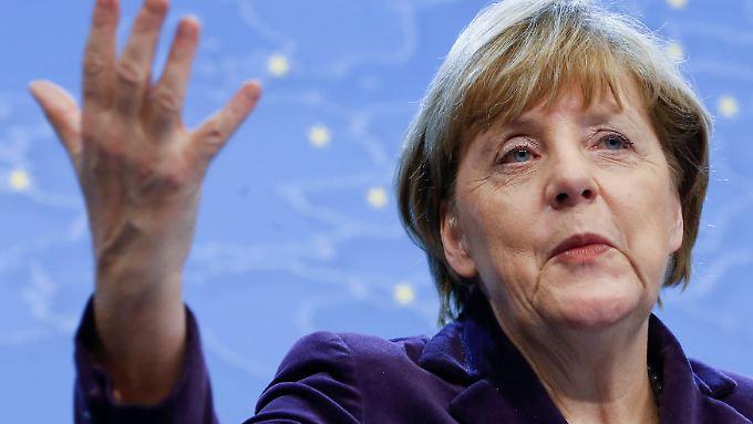 In der Kritik: die Politik von Bundesregierung und Kanzlerin Merkel.