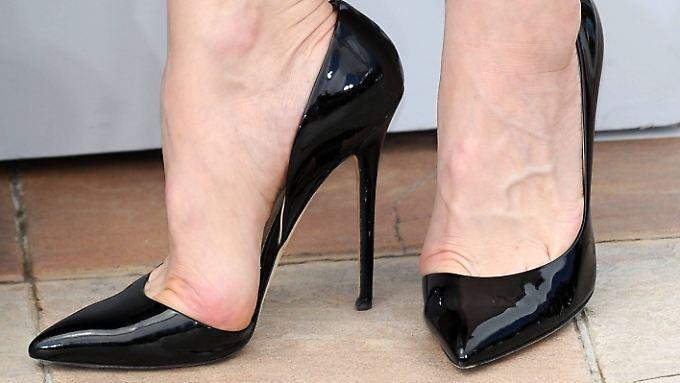 Manche Schuhe taugen nur zum Sitzen.