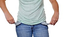 Die Mehrheit der insolventen Verbraucher steht bei Kreditinstituten und Versandhändlern in der Kreide.