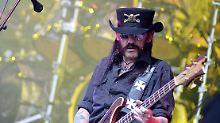 """Motörhead""-Frontmann: Lemmy Kilmister ist tot"