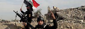 Lob aus Washington: Irakische Armee drängt IS aus Ramadi