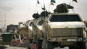 Selbstmordanschlag auf ISAF-Patrouille: Deutscher Soldat in Afghanistan getötet