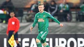 Borussia Mönchengladbach ist an Rapid Wiens Florian Kainz dran.