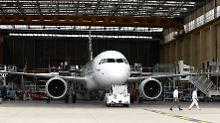 Geht noch nicht in die Luft: der Verkauffschlager A320neo.