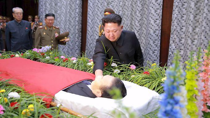 In Trauer: Kim Jong Un verliert Top-Funktionär.