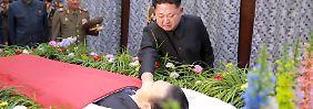 """Unfall oder tödlicher Komplott?: Kim weint um """"engsten Waffenbruder"""""""