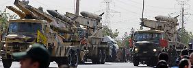 Iranische Raketentests heizen den Konflikt zwischen dem Iran und den USA erneut an.