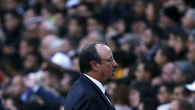 """""""Jedes Spiel ist für ihn von nun an ein Finale"""": Rafael Benítez."""