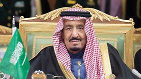 Der Anstieg der Zahl von Hinrichtungen geht einher mit der Machtübernahme von König Salman.