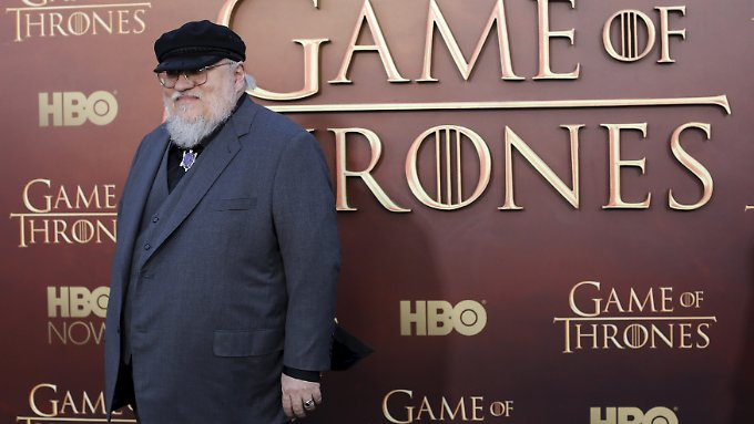 """George R.R. Martin wirkt auch an den Drehbüchern für """"Game of Thrones"""" mit."""