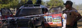 Hubschraubereinsatz bei Rallye-Prolog: Dakar-Debütantin rast in Zuschauermenge