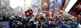 Gewaltsame Zusammenstöße in Teheran: Saudi-Arabien weist iranische Diplomaten aus