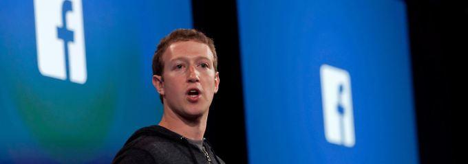 Hält künstliche Intelligenz für weit weniger gefährlich als Gewalt oder Krankheiten: Mark Zuckerberg (Archivbild).
