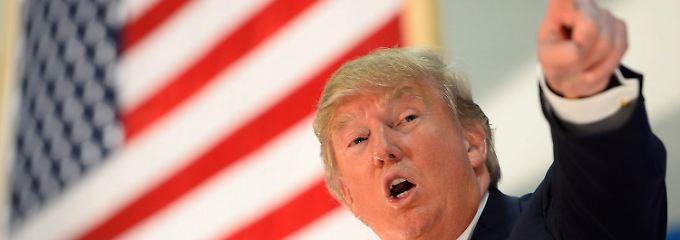 Wird Donald Trump im November neuer US-Präsident?