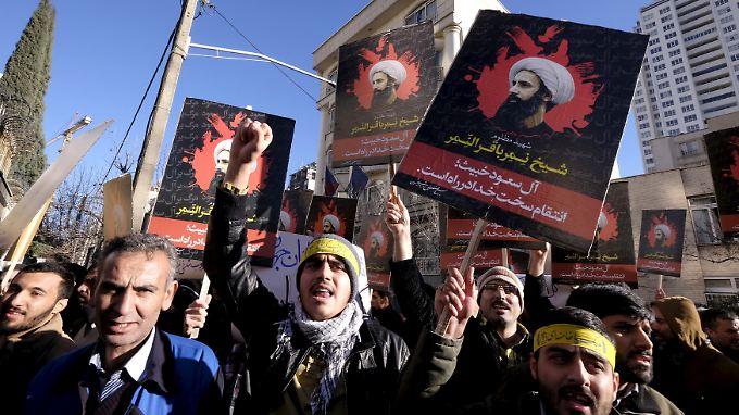 Die Hinrichtung von Scheich Nimr nehmen die Iraner den Saudis besonders übel.