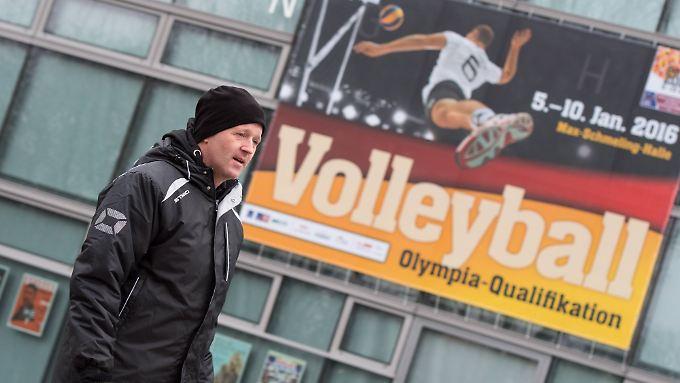 """""""Dieses Turnier ist besser besetzt als Olympia"""": Vital Heynen."""
