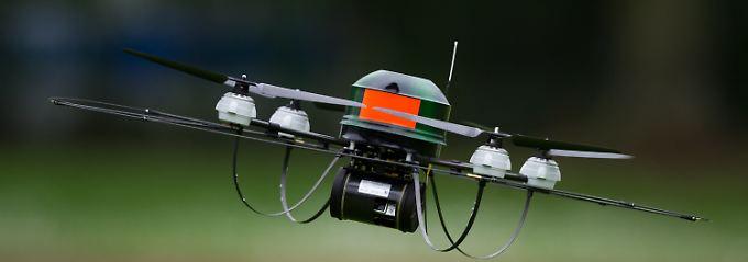 Auch in Deutschland gibt es immer mehr Drohnen.