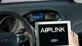 """Fords """"Applink"""" kommt auch bei Toyota zum Einsatz."""