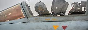 Bundeswehrsoldaten vom Fliegerhorst Büchel (Kreis Cochem-Zell, Eifel ) sind auf dem Luftwaffenstützpunkt Incirlik in der Türkei im Einsatz für die Nato. Sie begleiten dort Aufklärungsflugzeuge.