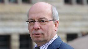 Rainer Wendt, Chef der Polizeigewerkschaft.
