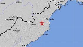 Der Atomtest Nordkoreas ließ die Erde beben.