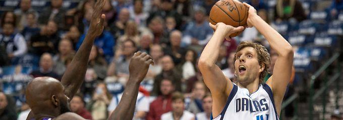 Nowitzki ist noch immer ein wichtiger Spieler für sein Team.