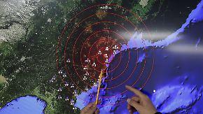 """Steinmeier: """"Ernste Bedrohung"""": Nordkorea meldet ersten Test einer Wasserstoffbombe"""