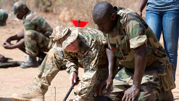 Bisher bildet die Bundeswehr im sicheren Süden Malis vor allem Soldaten aus - die neuen Truppen müssen in den gefährlichen Norden.