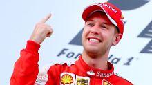 Angriff auf WM-Titel der Formel 1: Mit dem Vettel-Finger zurück auf den Thron