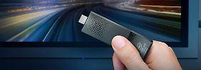 Intels Mini-PC mit Windows 10: Compute Stick ist ein kräftiger Winzling