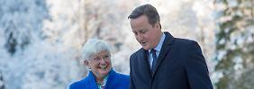 Cameron bei der CSU: Gemeinsam gegen Brüssel