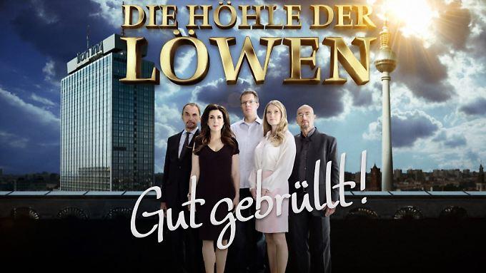 Vural Öger, Judith Williams, Frank Thelen, Lencke Steiner und Joachim Schweizer (v.l.n.r.) - das war die Jury bisher.