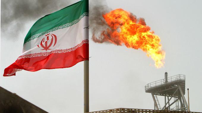 Das Soroush-Ölfeld: Ein iranisches Offshore-Ölfeld im Persischen Golf.