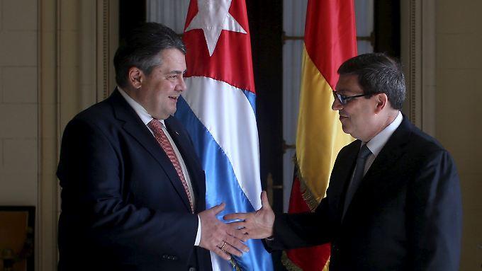 Langer Atem notwendig: Gabriel wirbt in Kuba für deutsche Investitionen