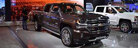 Chevrolet bietet den Silverado mit einem 2,8 Liter Turbo-Diesel an.