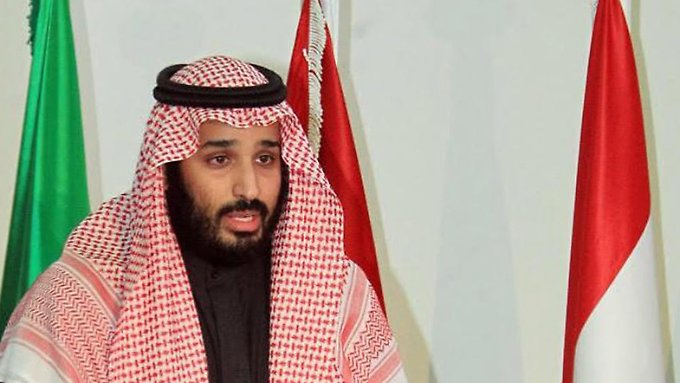 Vize-Kronprinz Mohammad bin Salman Al Saud