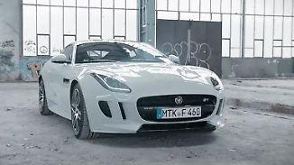 Fast schon vulgärer Sound: Jaguar F-Type rast mit neuer Stimmgewalt