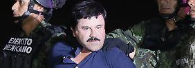 """Drogenboss in Heimatstaat gefasst: USA fordern Auslieferung von """"El Chapo"""""""