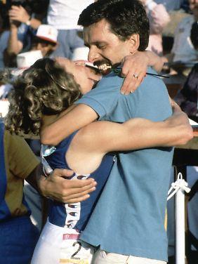 Ria Stalman dopte sich 1984 zum Olympiasieg.