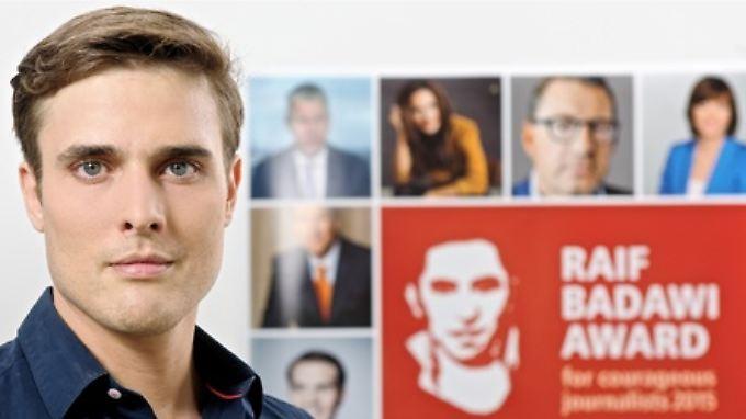 Constantin Schreiber unterstützt den in Saudi-Arabien inhaftierten Blogger Badawi.