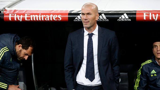 Dreimaliger Weltfußballer des Jahres: Zinedine Zidane