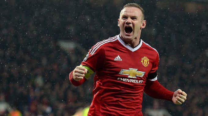 Schoss sein Team zum Sieg: Wayne Rooney (Archivbild)