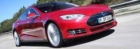 Alltagstauglich auf lange Sicht?: Im Tesla Model S von München nach Köln