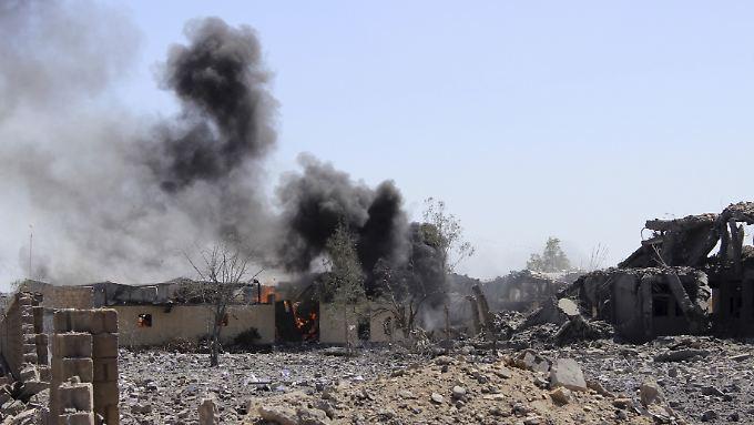 Die Provinz Saada gilt als Hochburg der Huthi-Rebellen: Immer wieder wird der Militärallianz vorgeworfen, zivile Einrichtungen vor Ort zu bombardieren.