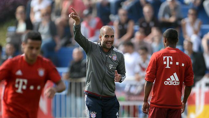 Der Abschied im Sommer steht fest: Bis dahin hat Pep Guardiola die Lage beim FC Bayern aber fest im Griff.