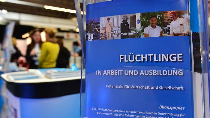 "Während der 5. Thüringer Firmenkontaktmesse ""academix Thüringen"" in Erfurt."