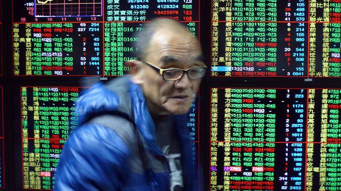 Im Verlauf der vergangenen Woche hat der Shanghai Composite Index insgesamt fast zehn Prozent verloren.