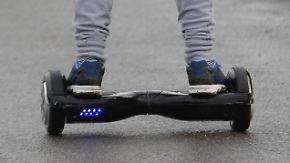 "n-tv Ratgeber: ""Hoverboards"" sind brandgefährlich"