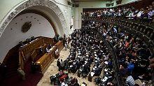 Machtkampf in Venezuela: Oberstes Gericht erklärt Parlament für illegal