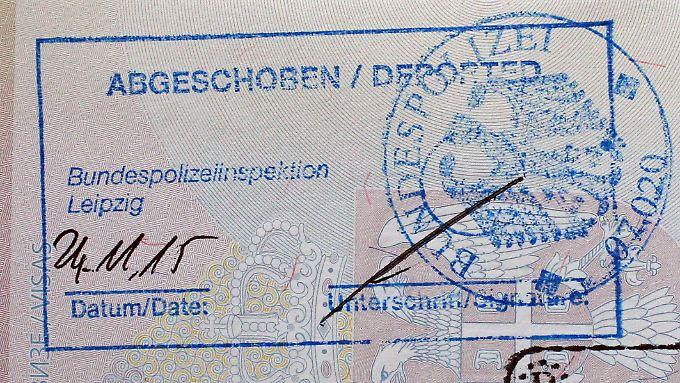 Bis zur Abschiebung kam es oft nicht - Zehntausende haben Deutschland freiwillig verlassen.